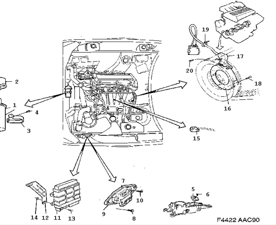 Ignition system, EZK