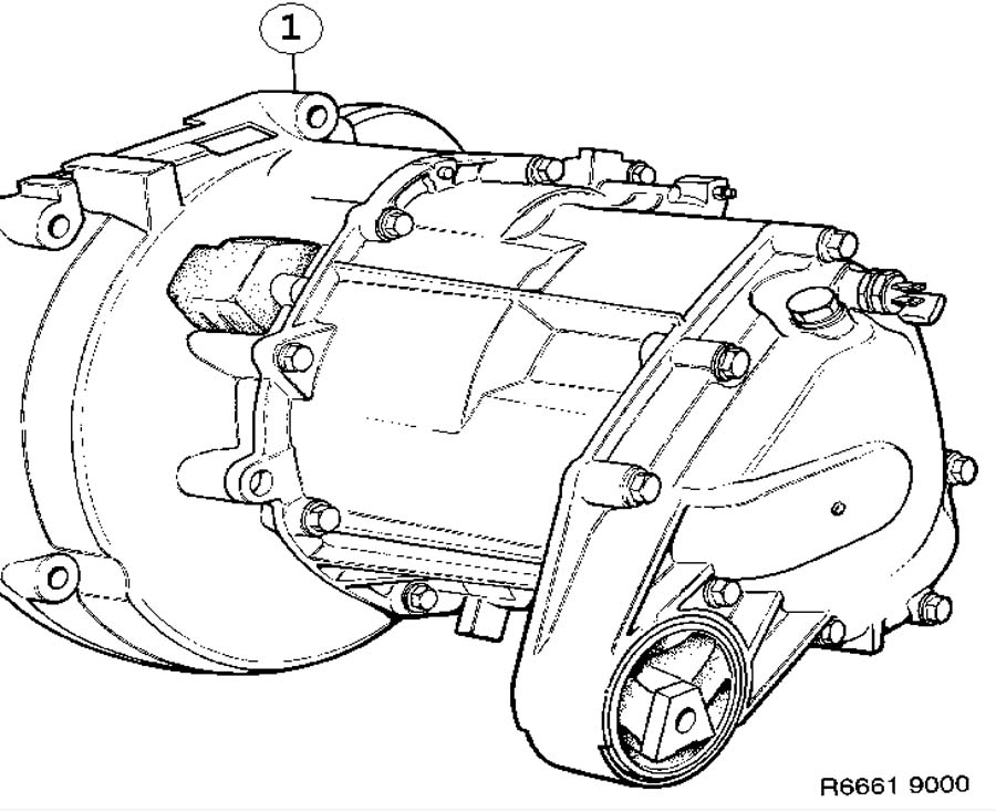 Gear box assy, Manual Manual