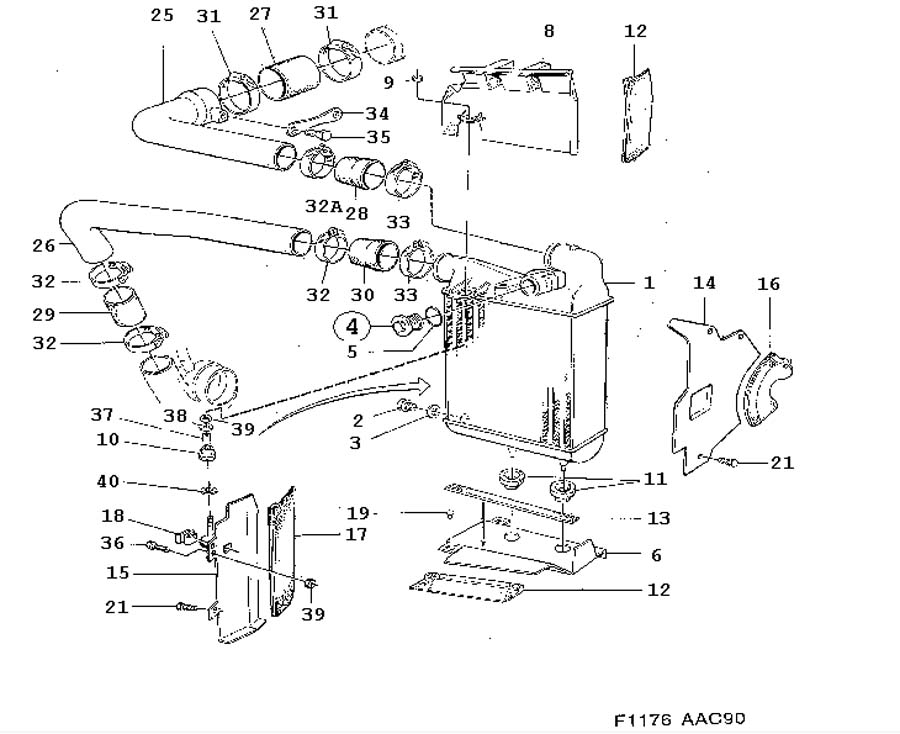 Cooling system, Intercooler