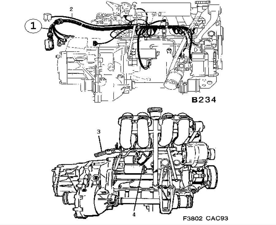 Wiring and fuses, Engine