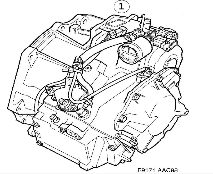 Gear box assy, Automatic Automatic