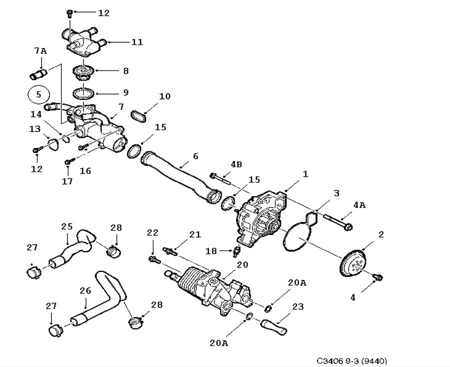Saab 9 2x 2 0l Engine Diagram Saab 9-7X Engine Wiring