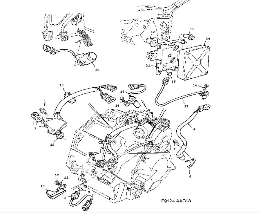 99 saab 9 3 engine diagram