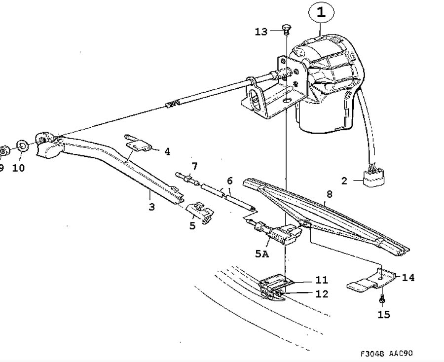 Electric equipment, other, Headlamp wiper