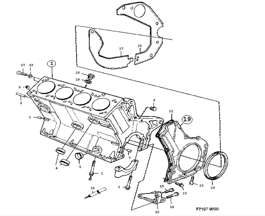 Service manual [How To Replace 1984 Ford Escort Coolant
