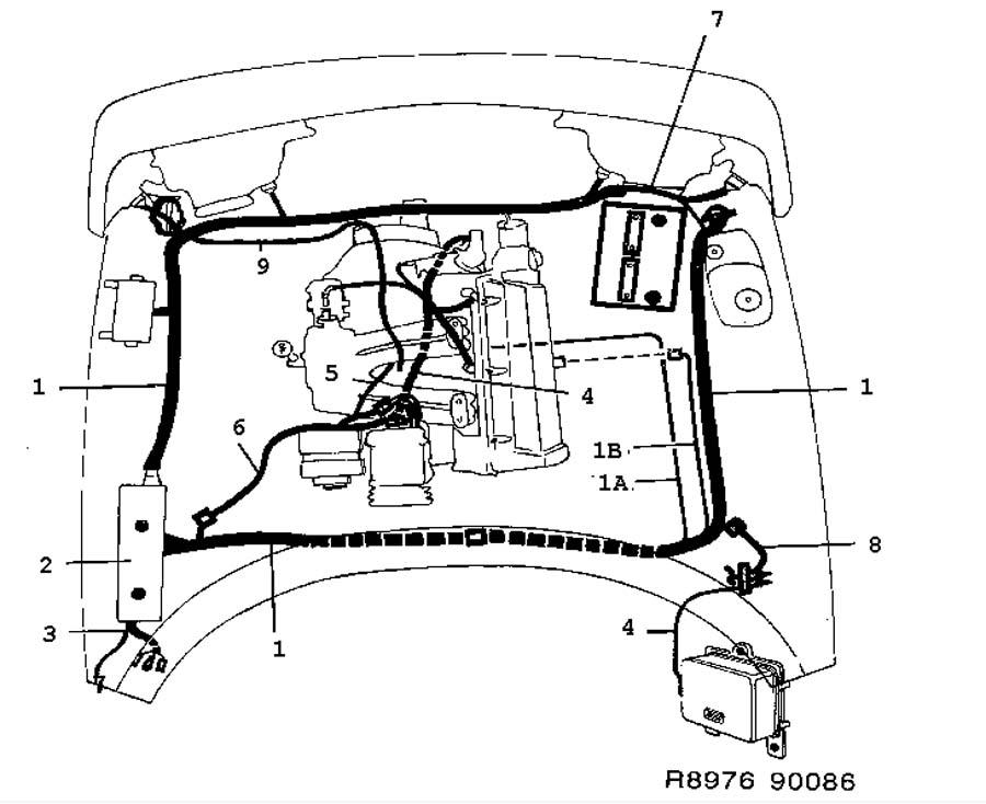 Saab 9 7x Wiring Harness Saab 9X7 ~ Elsavadorla