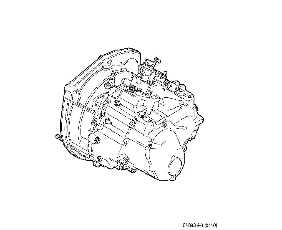 Gear box assy, Manuel, 6-speed Manual