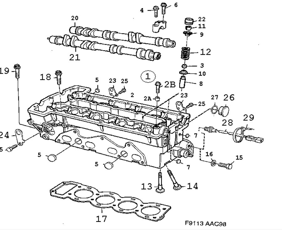 Service manual [1993 Eagle Vision Head Bolt Removal