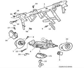 Steering device, Steering wheel member, Steering column 4