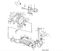 Supercharging system, Turbocharger TURBO