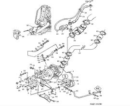 900 Parts for Engine Saab 1991