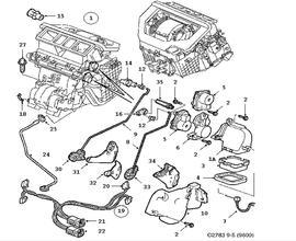 Saab 95 Sedan Parts