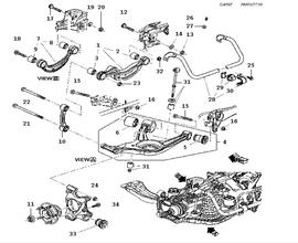 New 9-5 Parts for Suspension Saab 2010