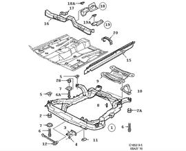 Body Parts for Saab 9-5