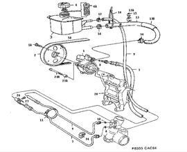 9000 Parts for Suspension Saab 1998