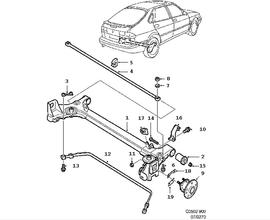 Suspension Parts for Saab 900