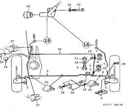 Brakes Parts for Saab 900