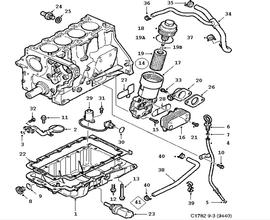 Engine Parts for Saab Classic 9-3