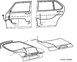 Saab 9 7x Wiring Harness. Saab. Wiring Diagram