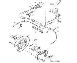900 Parts for Brakes Saab 1998