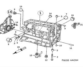 Engine Parts for Saab 900
