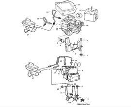 900 Parts for Brakes Saab 1997