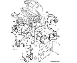 Supercharging system, Turbocharger TURBO 4 Cylinder