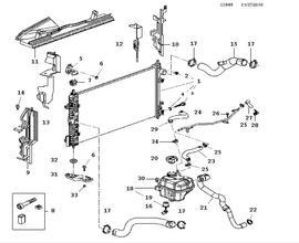 Saab 9000 Cooling System Diagram. Saab. Wiring Diagram Images