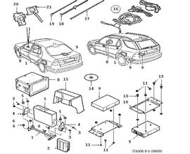 Electric equipment, other, Navigation system, XM System