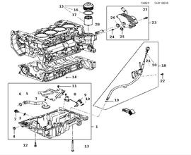 New 9-5 Parts for Engine Saab 2010