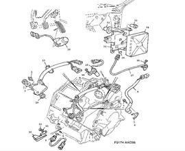 Gear box, automatic, Transmission control module, Sensor