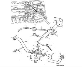 9000 Parts for Electrical Saab 1988