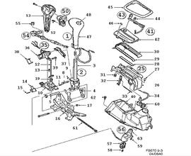 Transmission Parts for Saab Classic 9-3