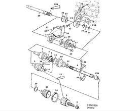 900 Parts for Transmission Saab 1998