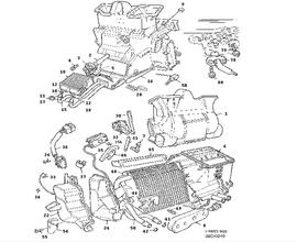 Heating and Ventilation Parts for Saab 900