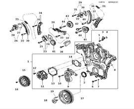 Engine Parts for Saab New 9-5