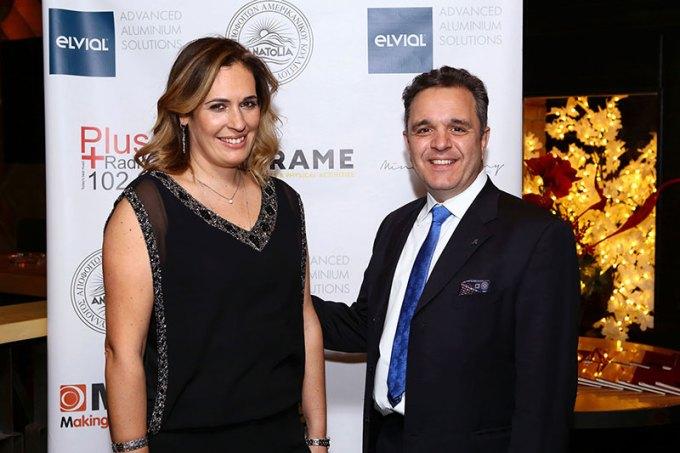 Το ζεύγος του Προέδρου του ΣΑΑΚ Ανατόλια κ. Κωνσταντίνου Χατζηιωάννου