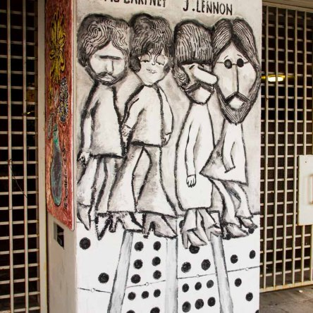 The Beatles by Aristide, Calle Ocho