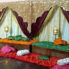 Events By Designer Chair Covers Squeaky Office Saarang | Mehndi Decor