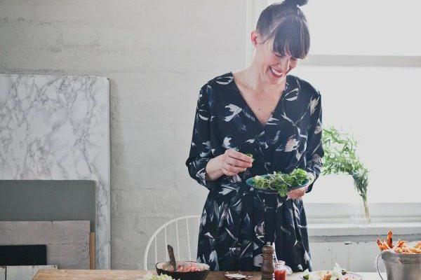 Vierailijahaastateltavana Food artist Jenni Häyrinen