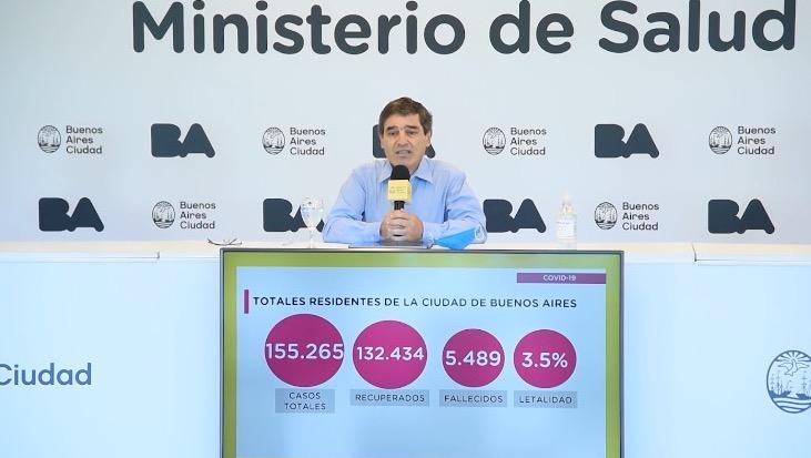"""Quirós pidió usar barbijos """"un poco más"""" pero dijo que """"es correcto"""" el sentido de las medidas anunciadas por Nación"""