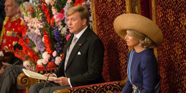 King Willem Alexander reads the 2016 speech