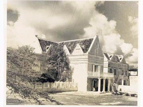 The old photo of this Dutch Caribbean historic house will become digitally available when the digitalised archive of several institutions in the Netherlands and Curaçao go online.