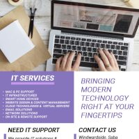 IT solutions & support to both business and home users.