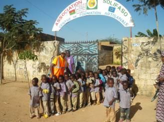 Centre Solifaso, accueil des enfants