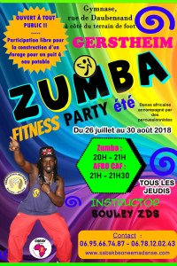 ZUMBA PARTY ÉTÉ À GERSTHEIM