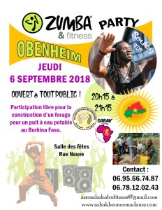 ZUMBA & FITNESS PARTY À OBENHEIM