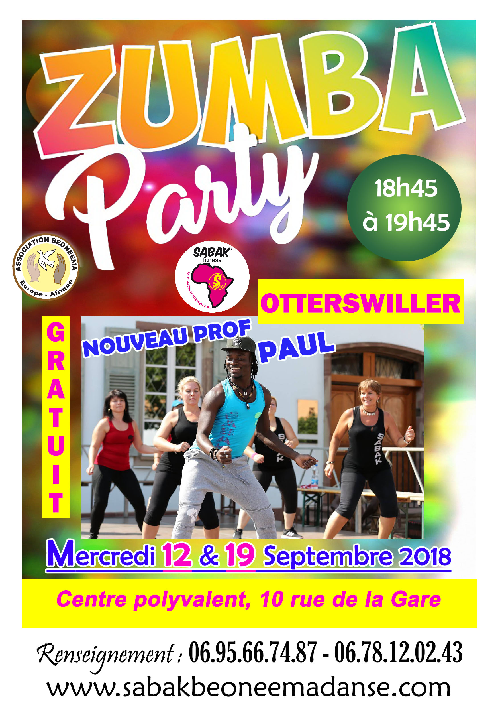 ZUMBA PARTY À OTTERSWILLER