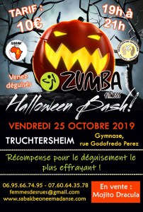 ZUMBA PARTY HALLOWEEN À TRUCHTERSHEIM