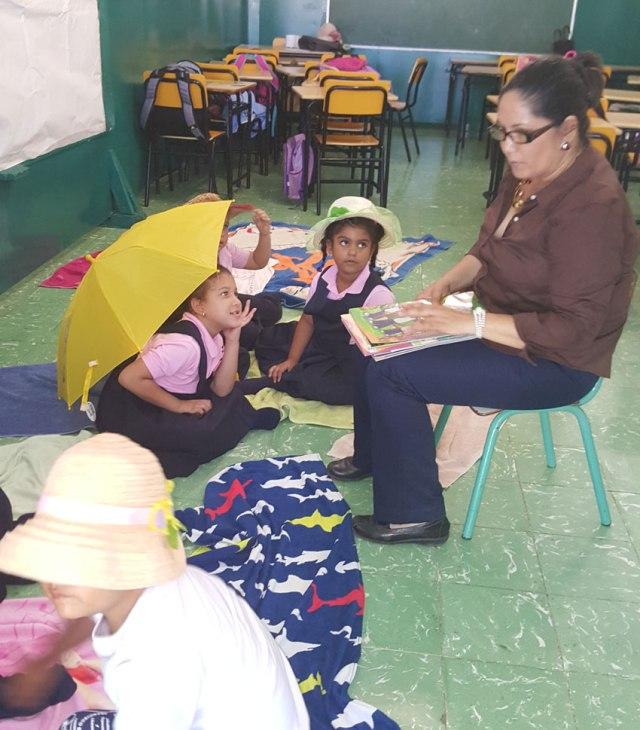 Carmen Gisela - Maratón lectura Colegio Francisco Bueno Zapata.